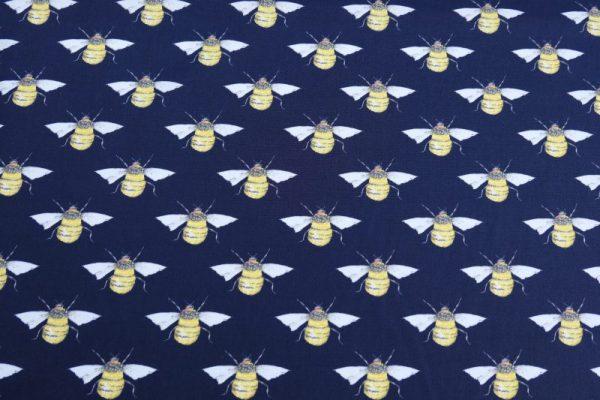 bee cotton poplin fabric