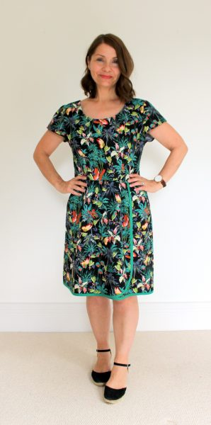 Flatter Me Frock Sew to Grow by Sew Dainty Sewisfaction Review