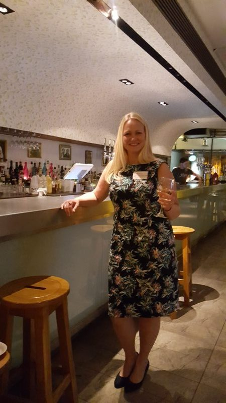 A dress fit for Edinburgh frocktails