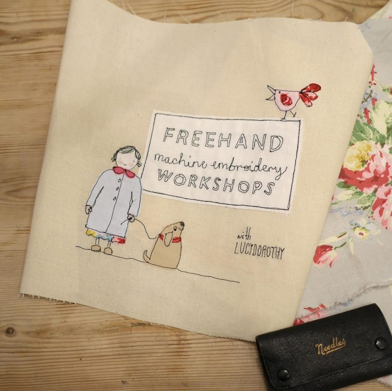 An Introduction To Freehand Machine Embroidery Sewisfaction