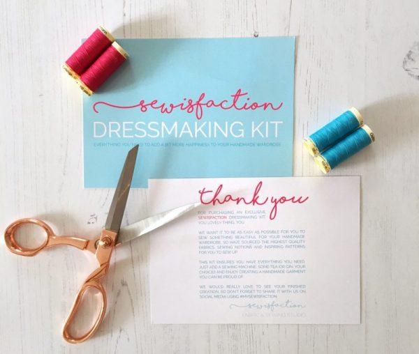 dressmaking kit sewing kit beginner dressmaking