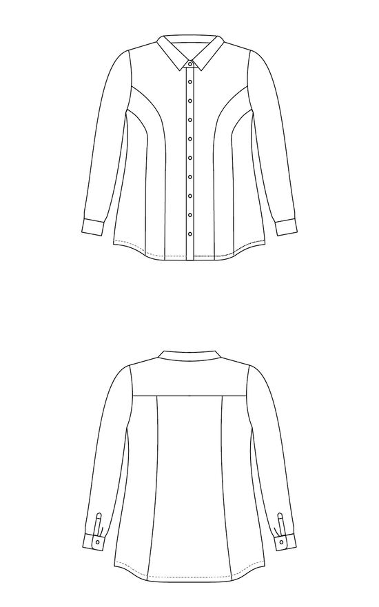 Cashmerette Harrison Shirt Pattern - Sewisfaction