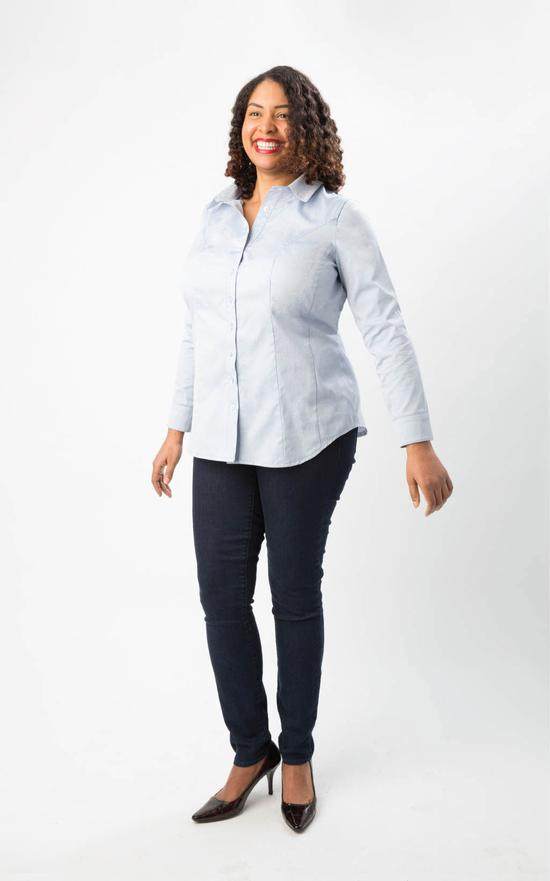 Cashmerette Harrison Shirt Sewing Pattern