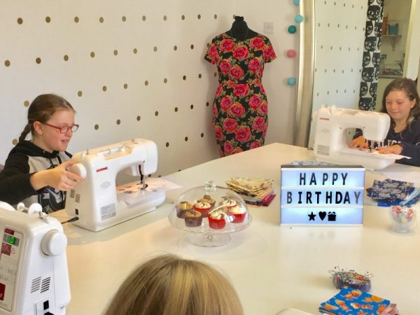 children's sewing party wokingham berkshire