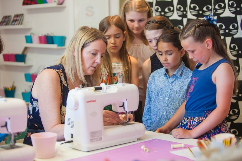 children's sewing classes