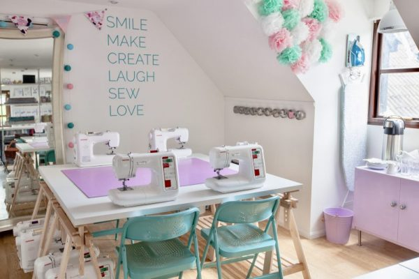 Sewisfaction fabric shop sewing studio Wokingham Berkshire