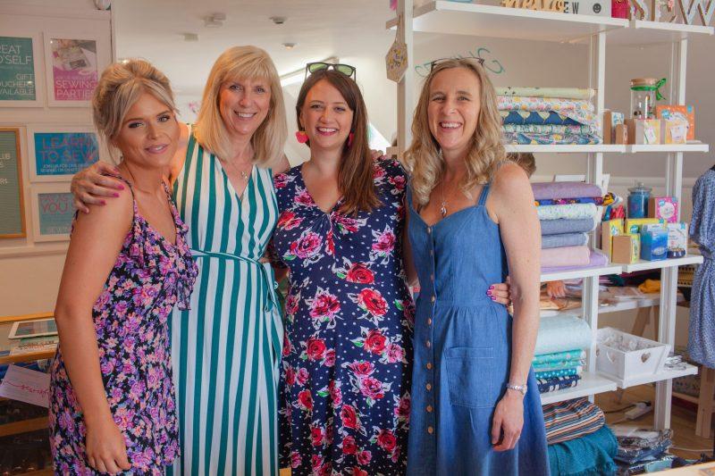 Sewisfaction fabric shop sewing studio Wokingham Berkshire