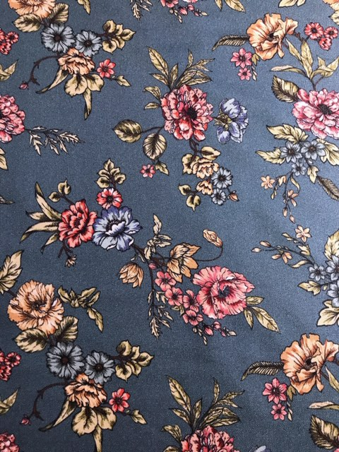 trinity bloom viscose twill