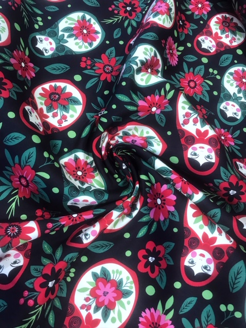 EX designer dressmaking fabric