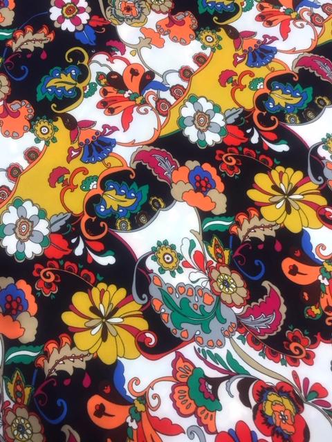 Crepe dressmaking fabric