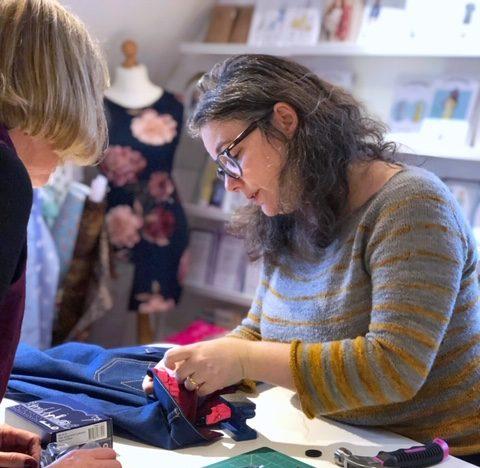 sewing class charlotte newland